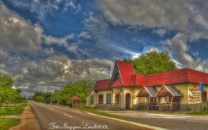 Hungarian landscapes. The Inn, HDR-picture. by magyarilaszlo