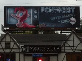 """Ponygeist"" MLP Billboard by thepanther17fan"
