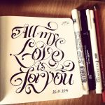 All my love is for you by emmapookie