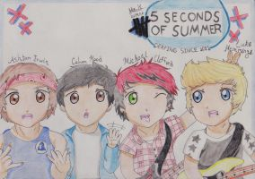 5 Seconds of Summer by OneDirectionFanJohn