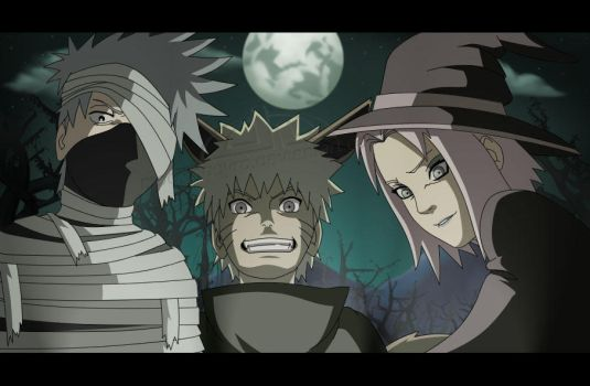 This Is Naruto Halloween by Mockingbyrd