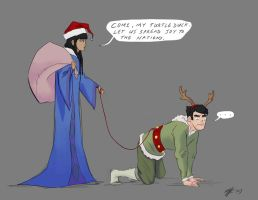 LOK: Spread the Joy by rice-claire