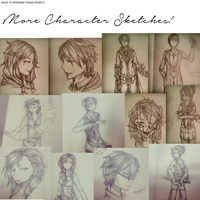 Character Sketches 2.0! by Reynn13