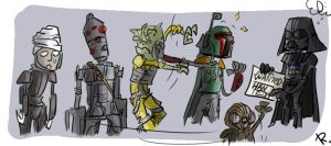 Bounty Hunters, 2 by Ayej