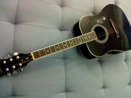 My acoustic epiphone by CrowDXB