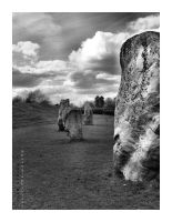 Avebury Stone Circle by JRose-Photography