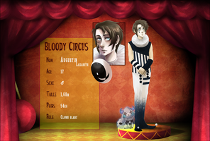 Bloody Circus - Augustin by D-Kitsune