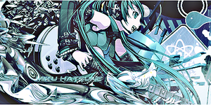 Miku Hatsune Tag by FreeshootXiggy