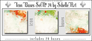 Icon Bases Set No.34 by Sibelle