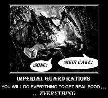 Imperial Guard Demotivator by DeMarchese