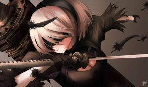 - No.2 Type B - Nier : Automata by 7AHO