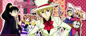 Living on a dream - Ouran by JuryJekyll