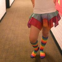 Rainbow Pixie Skirt by MikilofSouthern