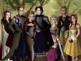 Sherlock cast in The Lord of the Rings by Mangaka4eva