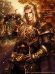 Blood Elf Ready for Battle by keelerleah