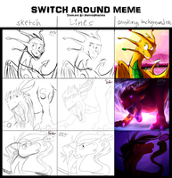 Switch Around Meme Final by SolarPaintDragon