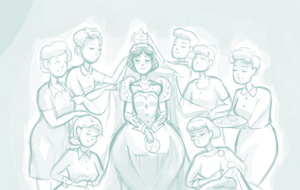 Loyalty to the Queen - WIP by BellaCielo