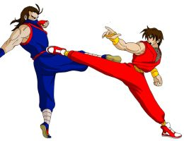 Guy vs Eiji by Tedbob