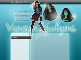 Vanessa Hudgens Layout 2 by GiraffeAndy