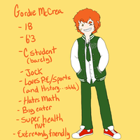 School AU - Gordie by MissPomp
