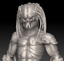 Predator - Zbrush 3.2.12 by FoxHound1984