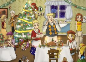Christmas in Bluebell by SesshomaruLOVESme