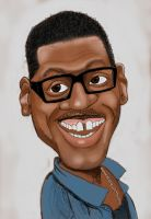 Caricature - Eddie Murphy by JourdainTSC