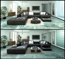 Vray vs Mental ray by TwinShock