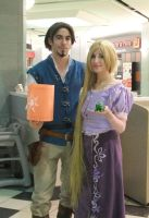 Eugene and Rapunzel by Shiroyuki9