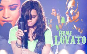 Wallpaper_DemiLovato by jonatick4ever