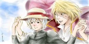 Mello's Moving Castle XD by miyanushi