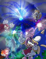 CE:Sonic's July 4th Extravaganza by SEGAmastergirl