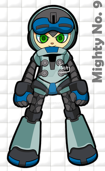 Mighty No. 9 by Kamira-Exe