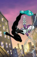 Spider Gwen colors by seanforney