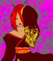 Autumn fire by death6loves6me6
