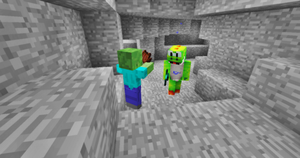 WTF?? A CANIBAL ZOMBIE?! by CrazyIceCream4ever