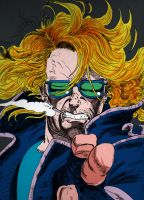Johnny Blaze from Ghost Rider by juanmap14
