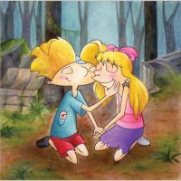 Arnold and Helga--TJM by SeraphimKiss88