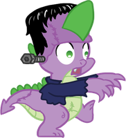 MLP Halloween - Spike by Atlur
