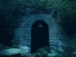 The gate by Seraerith-stock