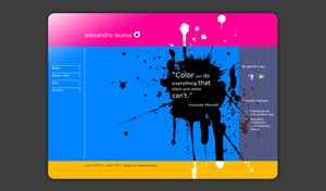 web layout no2 by meandmypixels