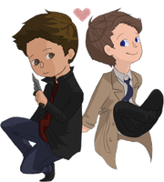 Destiel by thatone-kid