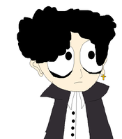 South Park Michael The Goth Kid. First Attempt. by sonicexpertfan10