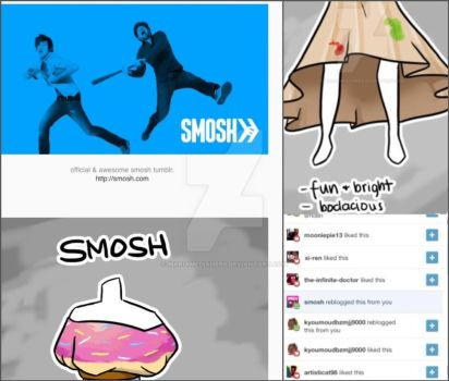 Smosh noticed me (Again!) by MariaMediaHere