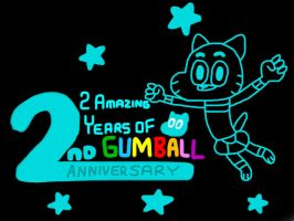 Gumball 2nd Anniversary by MigsGarcia5127