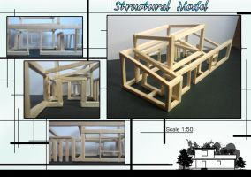 My Cabin - Structural Model 2 by TheMrStick