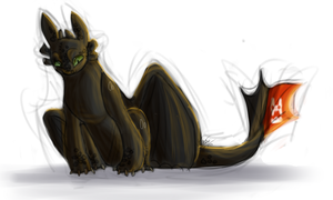 toothless by Dreamingoff