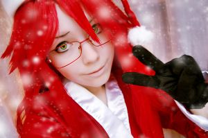 Happy New Year from Grell by Helen-Stifler