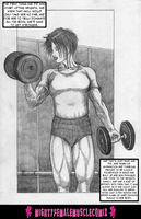 Wrestle Girl 0002 Sample by SteeleBlazer84