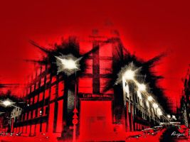 The Red Street by RiegersArtistry